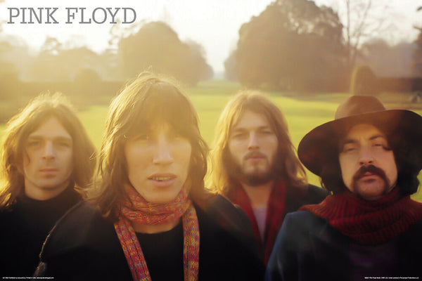"Pink Floyd ""Meddle Portrait"" (c.1971) Poster - Aquarius Images"
