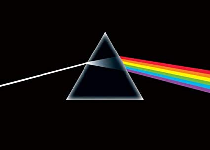Pink Floyd Dark Side of the Moon Prism Poster - Aquarius Images