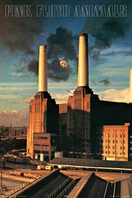 Pink Floyd Animals (1977) Album Cover Poster - Aquarius Images