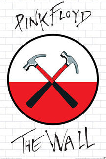 "Pink Floyd ""The Wall"" Logo Poster - Aquarius"