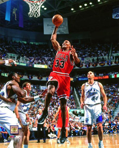 "Scottie Pippen ""Finals Slam"" (1998) Chicago Bulls Premium Poster Print - Photofile Inc."