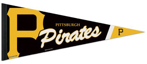 Pittsburgh Pirates Official MLB Baseball Premium Felt Collector's Pennant - Wincraft