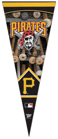 Pittsburgh Pirates Dual-Logo MLB Premium Felt Collector's Pennant - Wincraft Inc.