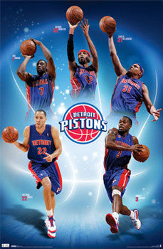 "Detroit Pistons ""Five Stars"" (2011) - Costacos Sports"