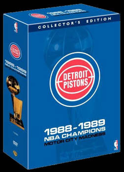 DVD SET: 1989 Detroit Pistons 11-Disc Set