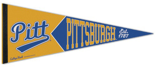 Pitt Panthers NCAA College Vault 1960s-Style Premium Felt Collector's Pennant - Wincraft Inc.
