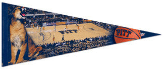 "Pitt Panthers Basketball ""Game Night"" Premium Felt Pennant"
