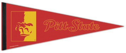 Pittsburg State Gorillas Official NCAA Sports Team Logo Premium Felt Pennant - Wincraft Inc.