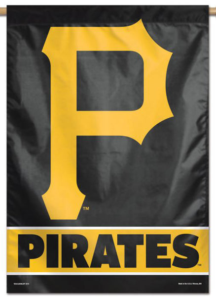 Pittsburgh Pirates Official MLB Team Logo Premium 28x40 Wall Banner - Wincraft Inc.