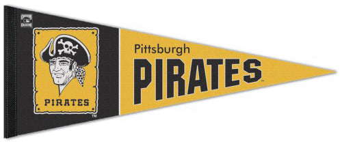 Pittsburgh Pirates Cooperstown Collection 1960s-80s-Style Premium Felt Pennant - Wincraft