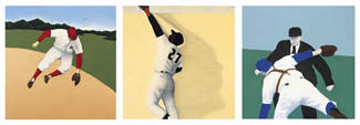 """Play Ball - Summer"" (Fielders) - Modern Art Editions"
