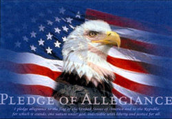 The Pledge of Allegiance (Americana) Poster - Image Source International