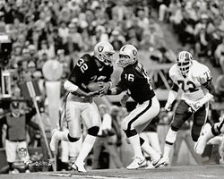 Jim Plunkett and Marcus Allen Super Bowl XVIII (1984) Photofile Archive Print