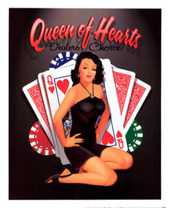 """Queen of Hearts"" (Ralph Burch) - Haddad's Fine Art"