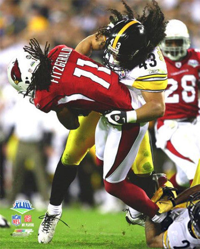 "Troy Polamalu ""SuperTackle"" Super Bowl XLIII Premium Poster Print - Photofile 16x20"