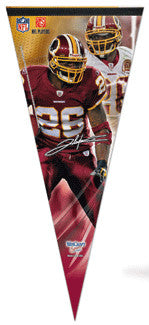 "Clinton Portis ""Big-Time"" EXTRA-LARGE Premium Felt Pennant - Wincraft"