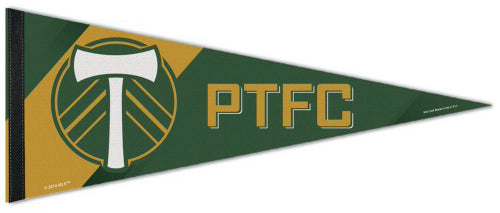 Portland Timbers Football Club MLS Soccer Team Premium Felt Pennant - Wincraft Inc.