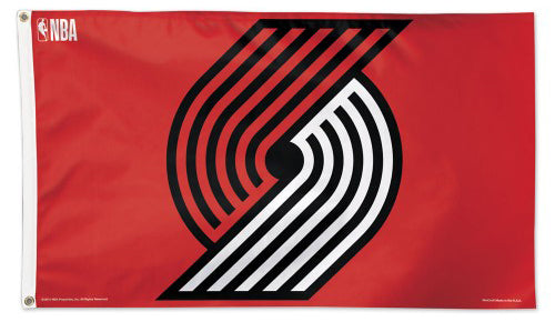 Portland Trailblazers Official NBA Basketball 3'x5' DELUXE Team Banner Flag - Wincraft