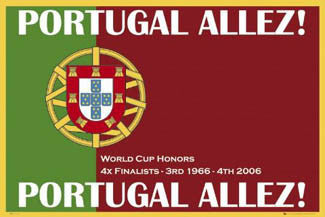 Portugal Allez! (National Football Team) - GB Posters 2007