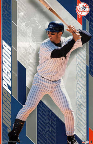 "Jorge Posada ""Superstar"" New York Yankees Poster - Starline 2002"