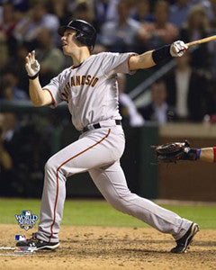 "Buster Posey ""World Series Blast"" (2010) Premium Poster Print - Photofile 16x20"