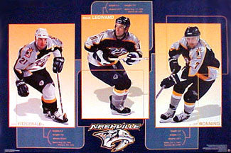 "Nashville Predators ""Stars 2000"" - Costacos Sports"