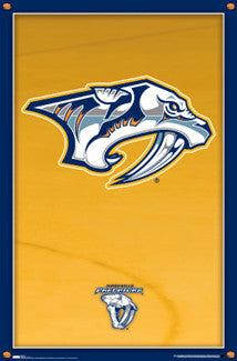 Nashville Predators Official NHL Logo Poster - Costacos Sports