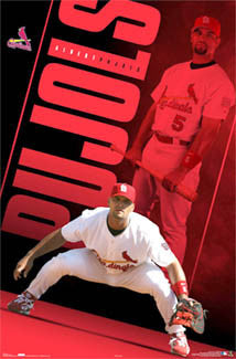 "Albert Pujols ""Superstar"" St. Louis Cardinals Poster - Costacos 2006"