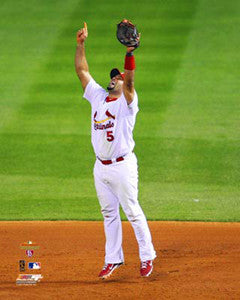 "Albert Pujols ""Elevate"" (2011 WS Game 7) St. Louis Cardinals Premium Poster - Photofile 16x20"