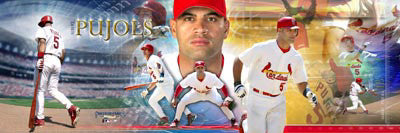 Albert Pujols St. Louis Cardinals Photoramic Collage Poster Print - Photofile Inc.