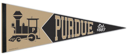 Purdue Boilermakers NCAA College Vault Collection 1950s-Style Premium Felt Collector's Pennant - Wincraft Inc.