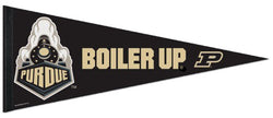 Purdue Boilermakers Official NCAA Team Logo Premium Felt Collector's Pennant - Wincraft Inc.