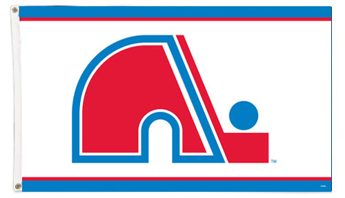 Quebec Nordiques NHL Hockey Classic 3'x5' Official Team Banner FLAG - The Sports Vault