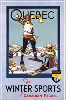 """Quebec For Winter Sports"" (1933) - Portal Publications"