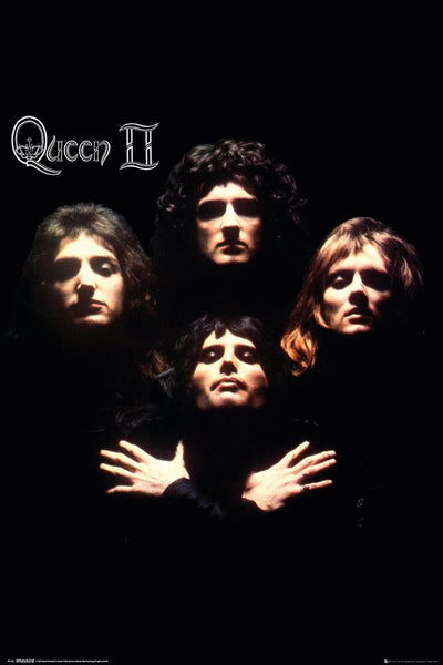 Queen II (1974) Classic Album Cover Poster - GB Eye (UK)