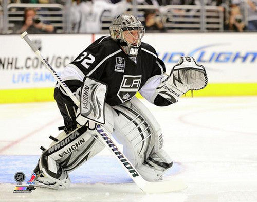 "Jonathan Quick ""Stone Wall"" (2013) L.A. Kings Premium Poster Print - Photofile 16x20"