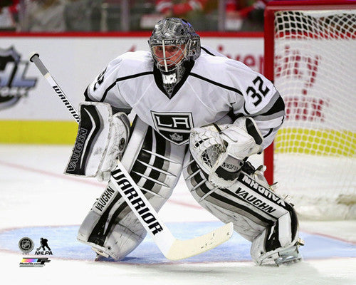 "Jonathan Quick ""Intensity"" Los Angeles Kings Premium NHL Poster Print - Photofile 16x20"