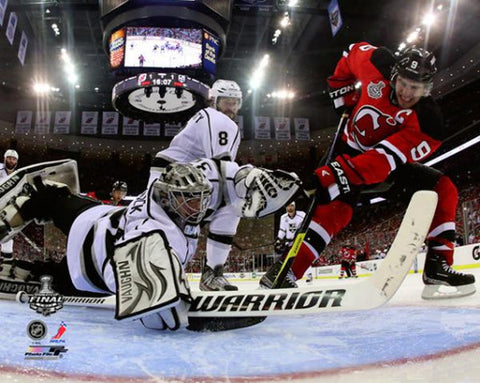 "Jonathan Quick ""Stanley Cup Warrior"" (2012) L.A. Kings Premium Poster Print - Photofile 16x20"