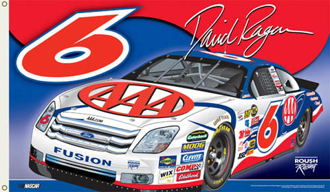 "David Ragan ""Ragan Nation"" 3'x5' Flag - BSI Products"