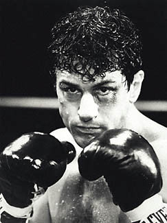 Raging Bull Action (Robert De Niro as Jake La Motta)