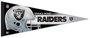 Oakland Raiders NFL Football Official Premium Felt Pennant - Wincraft Inc.