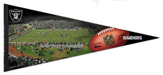 "Oakland Raiders ""Gameday"" Extra-Large Premium Felt Pennant - Wincraft"