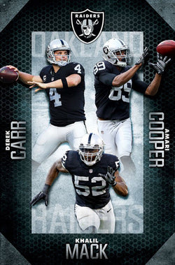 oakland raiders posters sports poster warehouse