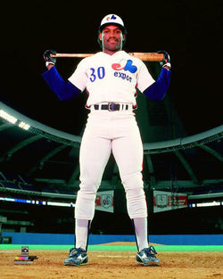 "Tim Raines ""Big O Classic"" (c.1983) Montreal Expos Baseball Premium Poster Print - Photofile Inc."