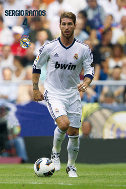 "Sergio Ramos ""Superstar"" Real Madrid Poster (2012/13) - G.E. (Spain)"