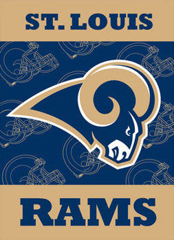St. Louis Rams Premium NFL Team Banner Flag - BSI Products