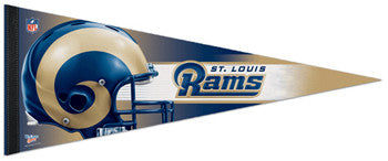 St. Louis Rams Official NFL Football Premium Felt Pennant - Wincraft Inc.