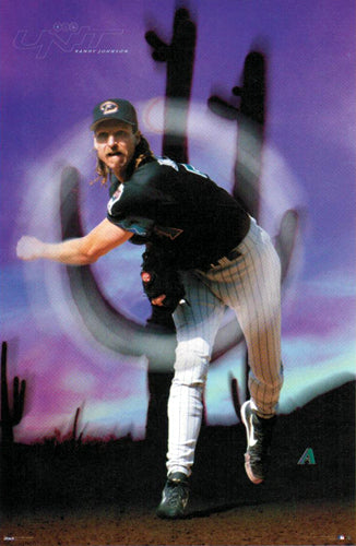 "Randy Johnson ""Big Unit"" Arizona Diamondbacks Poster - Costacos Sports 1999"