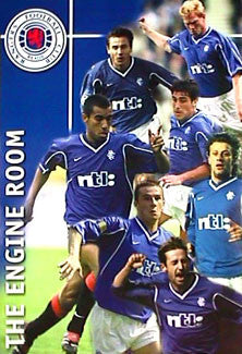 "Glasgow Rangers ""The Engine Room"" - U.K. 2000"