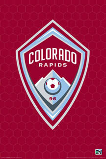 Colorado Rapids Official MLS Logo Poster - Aquarius Images